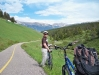 14 mi bike ride down the Vail Pass